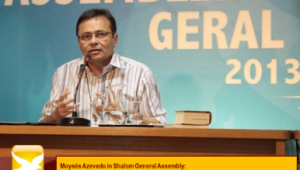 Moysés speaks at the general Assembly