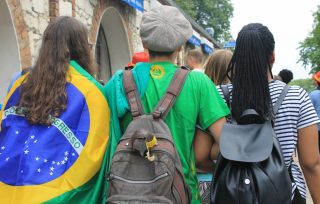 Registration to the next WYD are in full gear