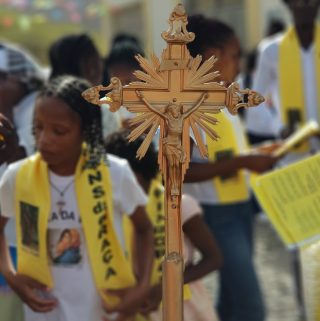 Shalom Missionary Expedition in Cape Verde celebrated saint Thomas's day with joy and banquet